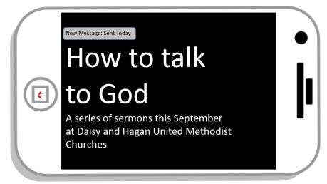 How to talk to God Facebook